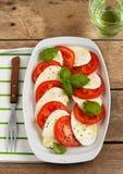 Caprese Salat Lizenzfreies Stockbild