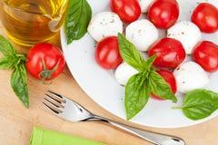 Caprese-Salat Stockfotografie