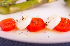 Caprese-Salat Lizenzfreie Stockfotos