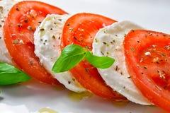 Caprese-Salat Stockfoto