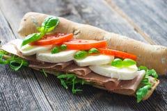 Caprese Sandwich Royalty Free Stock Photo