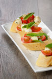 Caprese sandwiches Royalty Free Stock Image