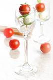 Caprese Shot Royalty Free Stock Photography