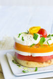 Caprese Stack royalty free stock images