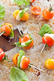 Caprese on a stick Royalty Free Stock Image