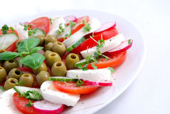 Capresse salad Royalty Free Stock Photo