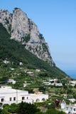 capri小岛意大利 库存图片