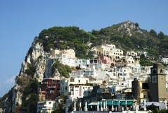 capri山坡 免版税库存图片