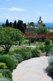 Capri植物园 免版税图库摄影