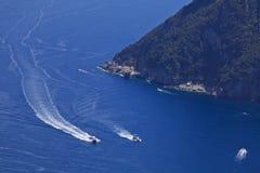 capri海岛意大利 免版税图库摄影