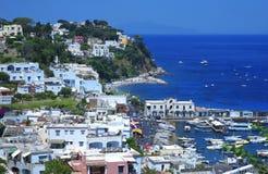 Capri海岛,意大利 库存照片