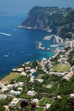 capri海岛 免版税图库摄影