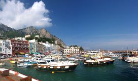 Capri, île de Capri, Italie photo stock