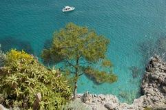 Capri ö arkivfoto