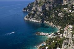 Capri ö Arkivfoton