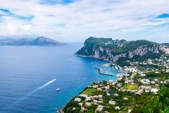 Capri ö Italien royaltyfri fotografi