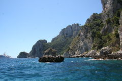 Capri Ιταλία Στοκ φωτογραφίες με δικαίωμα ελεύθερης χρήσης