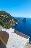 capri Италия Стоковое Фото