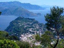 capri Италия Стоковые Изображения RF