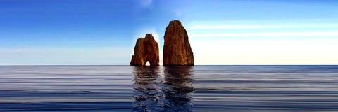 capri 免版税库存图片
