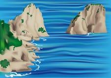 Capri stock abbildung
