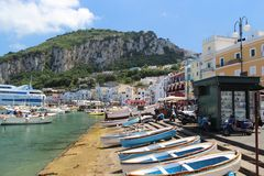 Capri Στοκ εικόνες με δικαίωμα ελεύθερης χρήσης