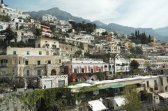 Capri. View of Italian Estates in Capri royalty free stock photography