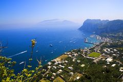 Capri Royalty Free Stock Photo