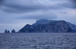 Capri. Arrival in Capri from Salerno Royalty Free Stock Photos