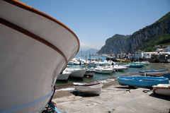 Capri bay Royalty Free Stock Photo