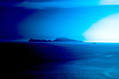 CAPRI  BLUE Royalty Free Stock Photos