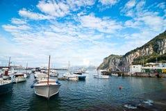 Capri, boats Stock Image