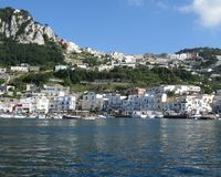 Shore of Capri Royalty Free Stock Images