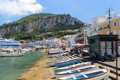 Isle of Capri Royalty Free Stock Images