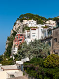 Capri byggnader Royaltyfria Foton