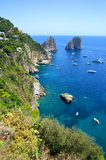 Capri, Campania region of Italy Stock Image