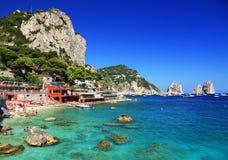 Capri-Eiland royalty-vrije stock afbeeldingen