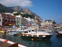 Capri en la isla de Capri, Italia Fotos de archivo