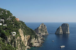 Capri Faraglioni Royalty Free Stock Photography