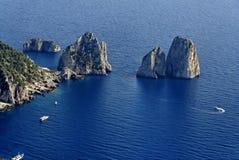 Capri Faraglioni Royalty Free Stock Image