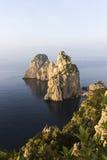 Capri Faraglioni fotografia de stock royalty free