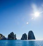 Capri, Faraglioni Stock Image