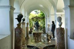 Capri. The gardens and villas of Capri Stock Photo