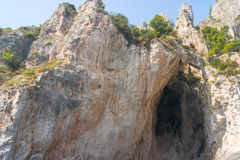 Capri grotto Royalty Free Stock Photography