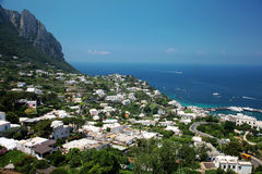 Capri Insel Lizenzfreies Stockbild