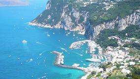 Capri Insel, Italien stock video