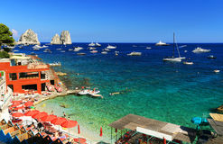 Capri Insel, Italien Lizenzfreies Stockbild