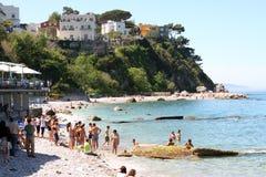 Capri-Insel - Italien Stockfotografie