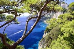 Capri-Insel - Kampanien, Italien Lizenzfreies Stockfoto
