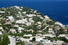 Capri island Stock Images